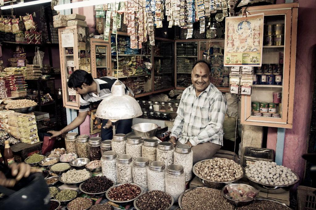 Der Markt von Jaipur