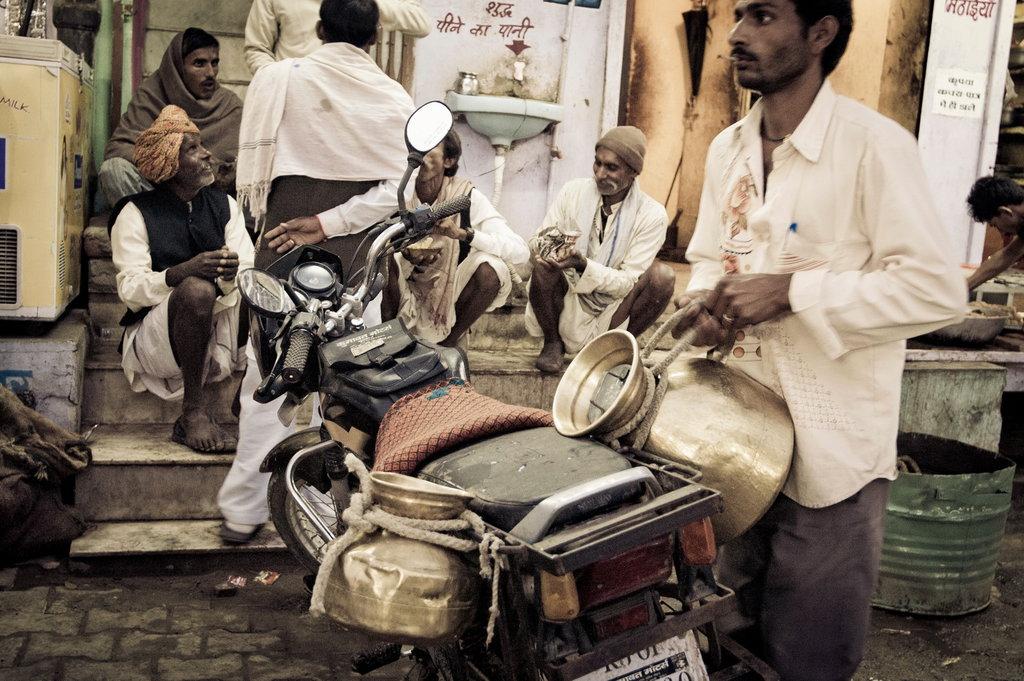 Nachtmarkt in Pushkar